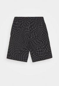 Converse - PRINTED FLEX WAIST PULL ON UNISEX - Shorts - black - 1