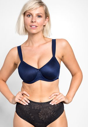 ESSENTIAL MINIMIZER  - Underwired bra - navy blue