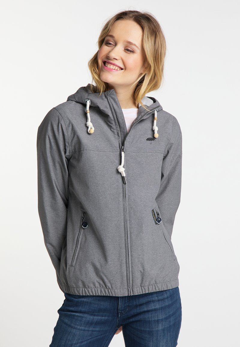 Schmuddelwedda - Outdoor jacket - grey melange