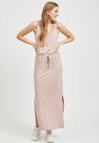 Object - OBJSTEPHANIE MAXI DRESS  - Maxi dress - rose - 0