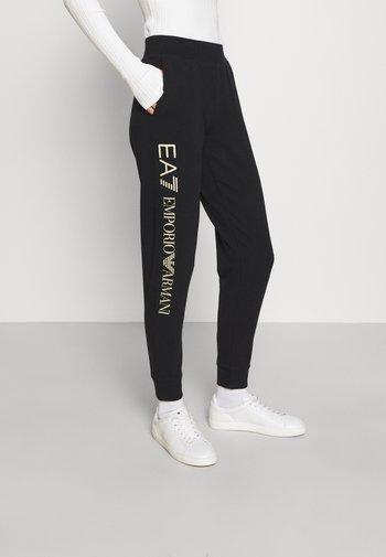 Pantaloni sportivi - black/light gold