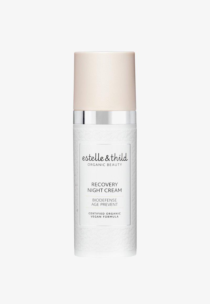 Estelle & Thild - BIODEFENSE INSTANT RECOVERY NIGHT CREAM  - Nachtpflege - -