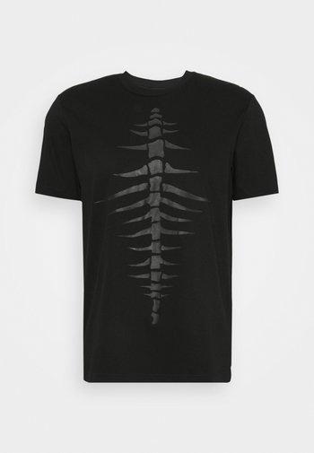 T-JUST-A31 MAGLIETTA UNISEX - Print T-shirt - black