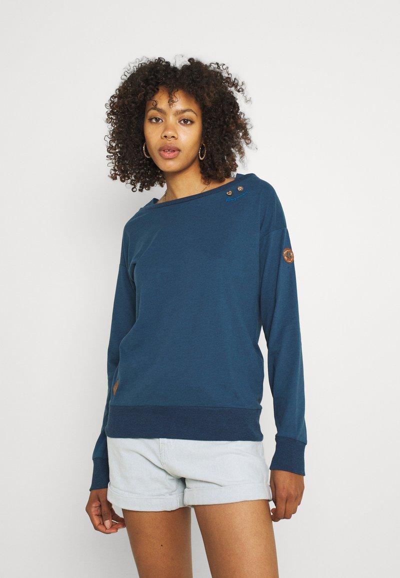 Ragwear - NEREA - T-shirt à manches longues - navy