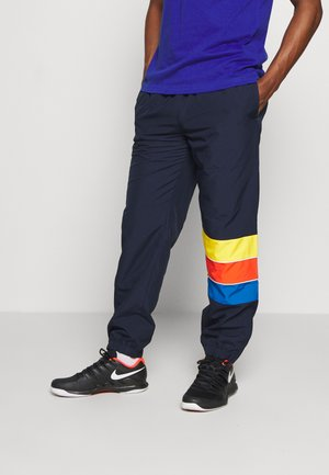 TENNIS PANT RAINBOW - Tracksuit bottoms - navy blue/utramarine/gladiolus/wasp