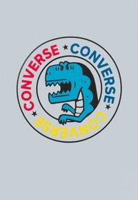 Converse - DINO WORDMARK TEE - Print T-shirt - white - 2