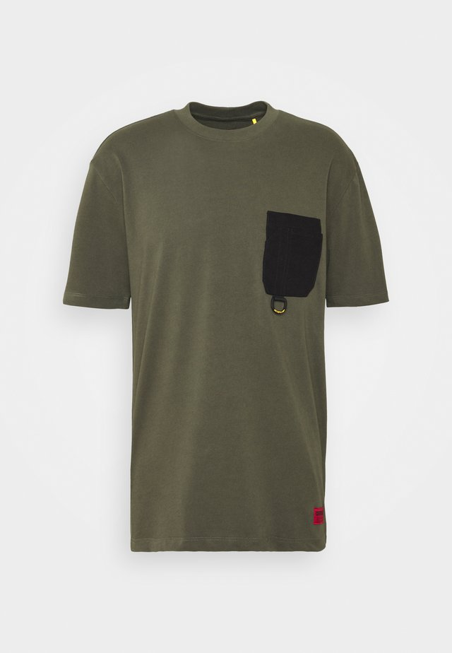 WORKWEAR POCKET  - Basic T-shirt - army