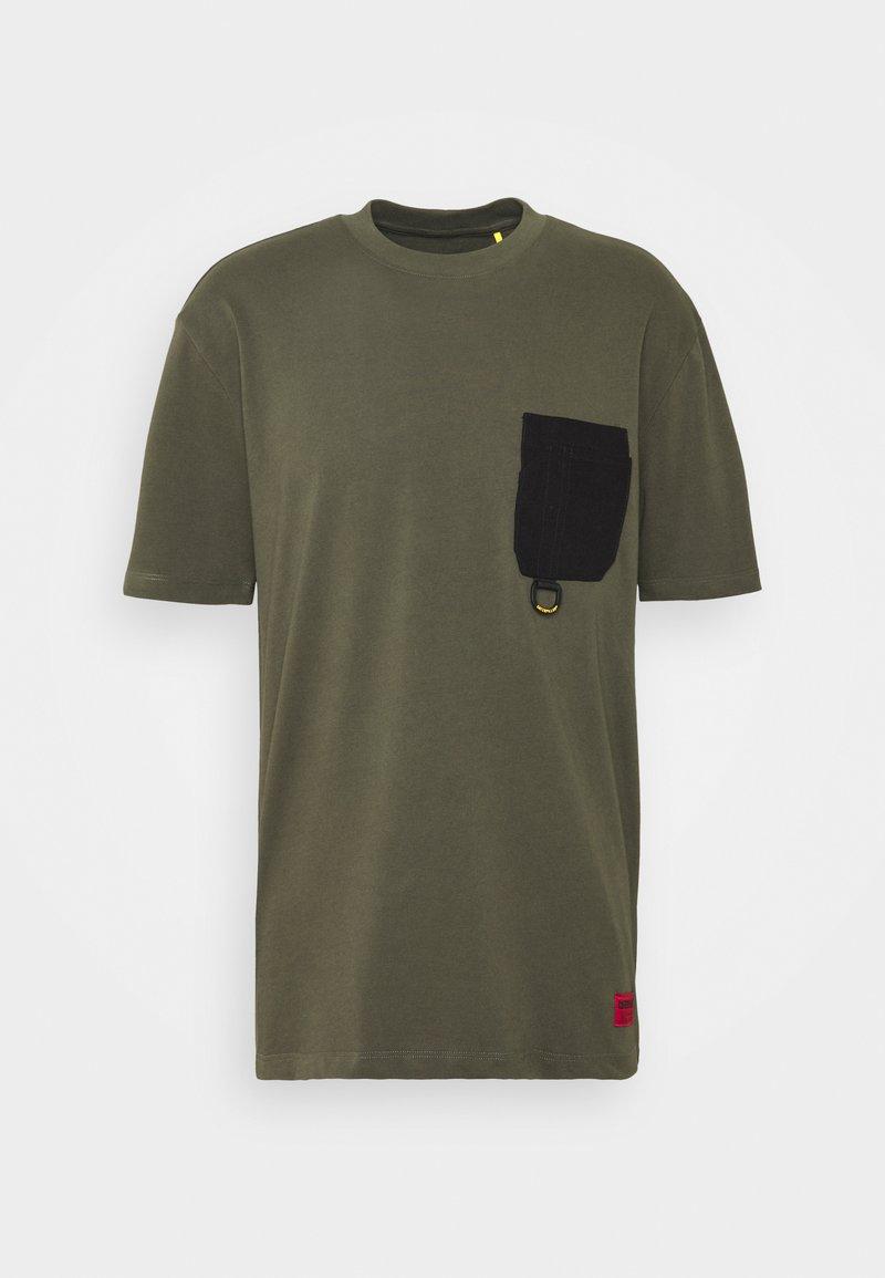Caterpillar - WORKWEAR POCKET  - Basic T-shirt - army