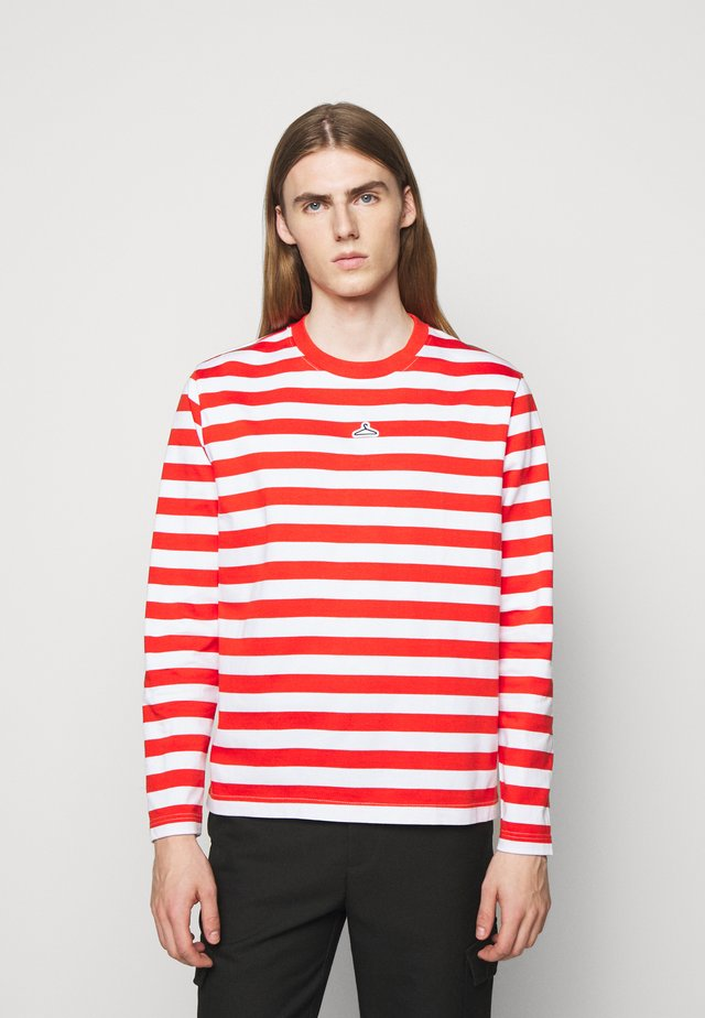 HANGER STRIPED LONGSLEEVE - Longsleeve - red/white
