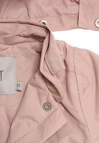 Wheat - Waterproof jacket - rose powder - 2