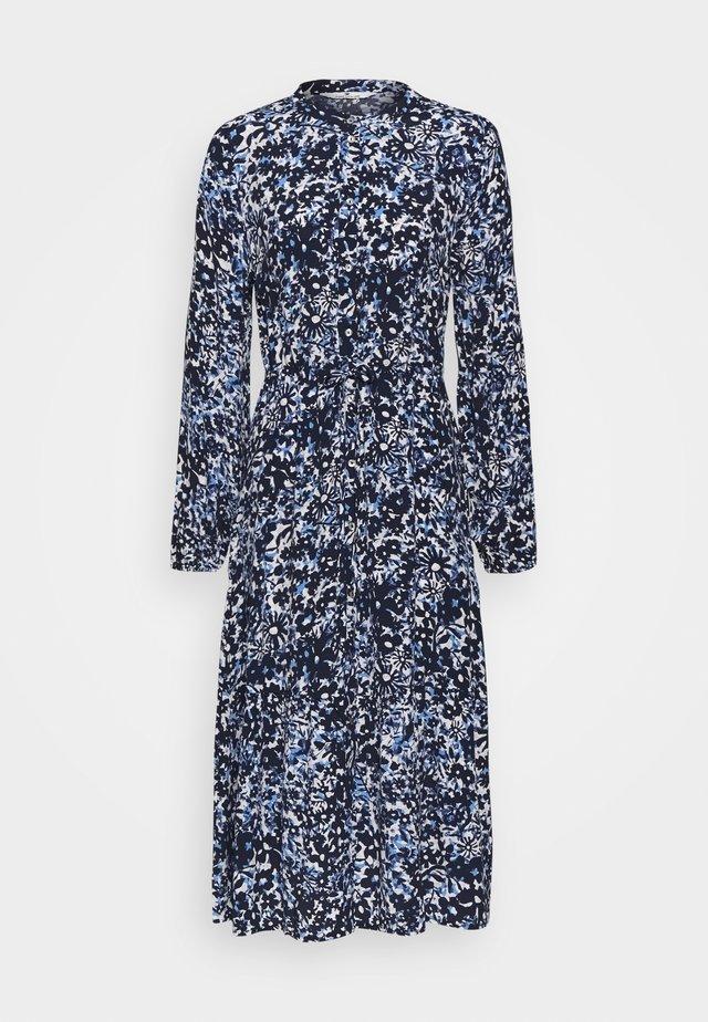 FLOUNCE - Shirt dress - blue