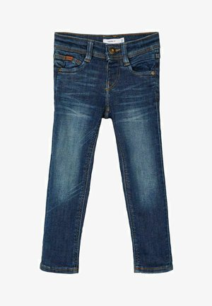 X SLIM FIT - Slim fit jeans - medium blue denim