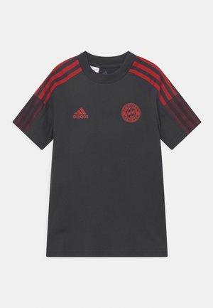 FC BAYERN MÜNCHEN TEE UNISEX - Club wear - night grey