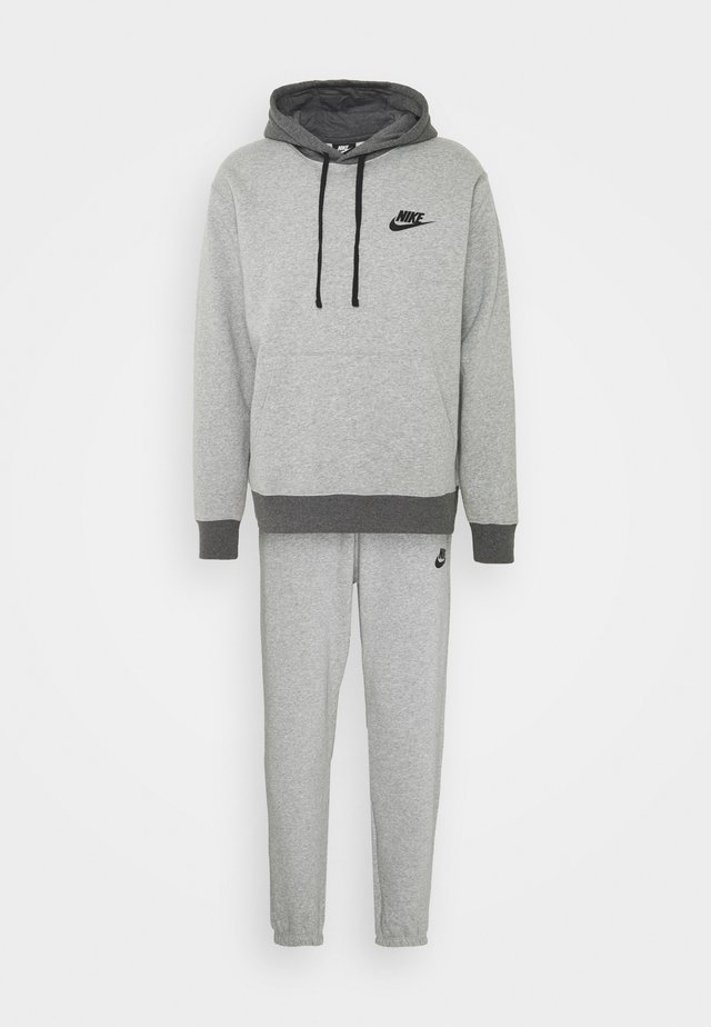 SUIT BASIC SET - Giacca sportiva - dark grey heather/charcoal heather/black