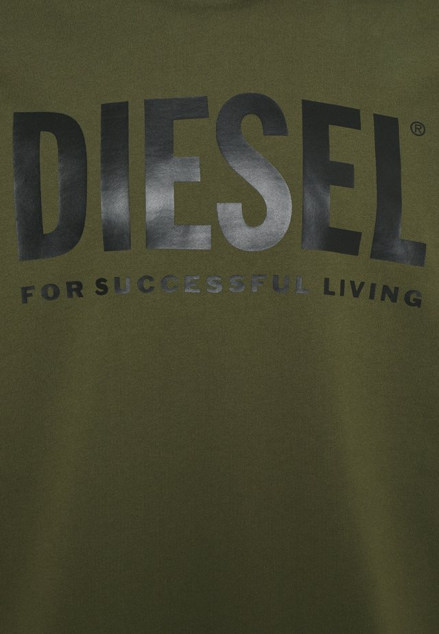 HOOD DIVISION LOGO - Jersey con capucha - olive