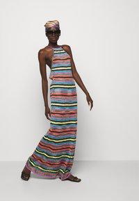 M Missoni - ABITO LUNGOSENZA MANICHE - Gebreide jurk - multi-coloured - 1