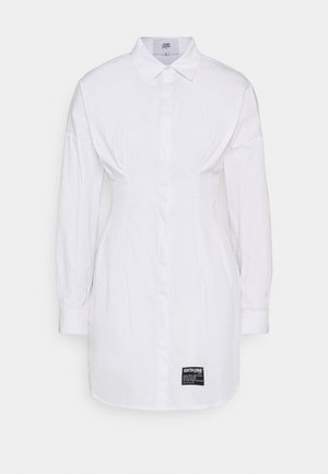 CORSET - Shirt dress - white