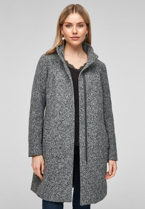Classic coat - grey tweed