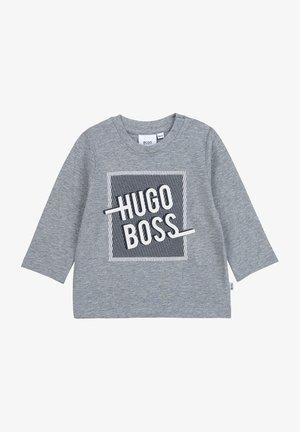 T-shirt à manches longues - gris chine