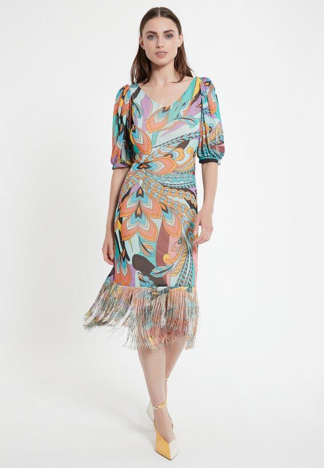 CEPAL - Korte jurk - mehrfarbig