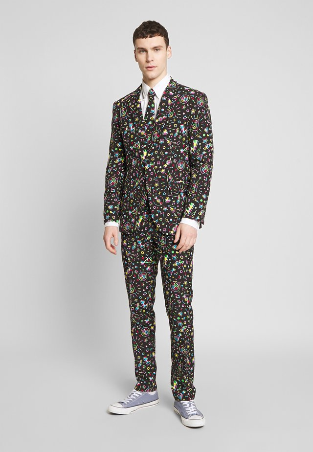 DISCO DUDE - Traje - black