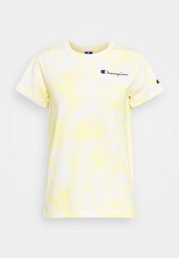 CREWNECK  - Triko spotiskem - white/yellow