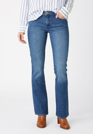 Straight leg jeans - airblue