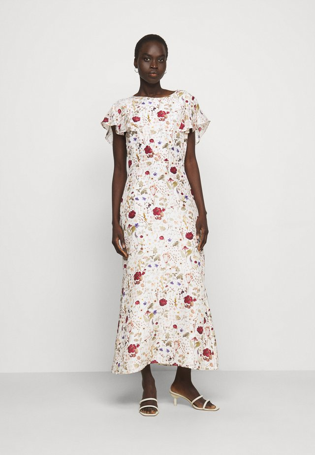ANNA DRESS - Korte jurk - ivory