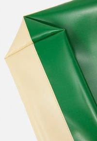 Marni - UNISEX - Tote bag - soft beige/garden green/black - 4