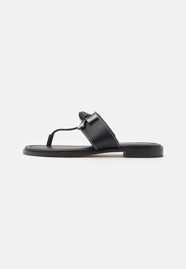 RIPLEY THONG - Sandalias de dedo - black