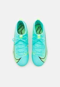 Nike Performance - MERCURIAL 8 ACADEMY MG UNISEX - Moulded stud football boots - dynamic turquoise/lime glow - 3