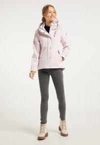 Schmuddelwedda - Waterproof jacket - hellrosa - 1