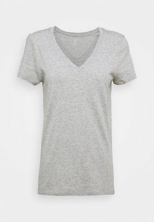 FAV - Jednoduché triko - grey heather