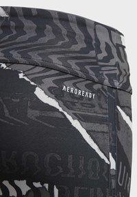 adidas Performance - OWN THE RUN LEGGINGS - Leggings - gray - 2