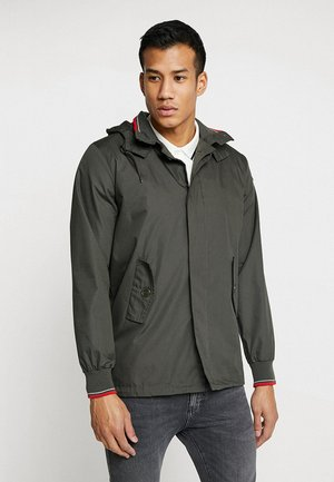 MICK HOODED - Summer jacket - kaki