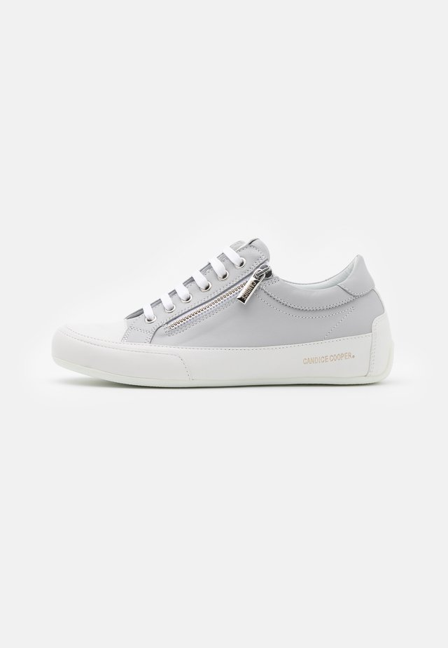 DELUXE ZIP - Sneakers laag - opal grey/bianco