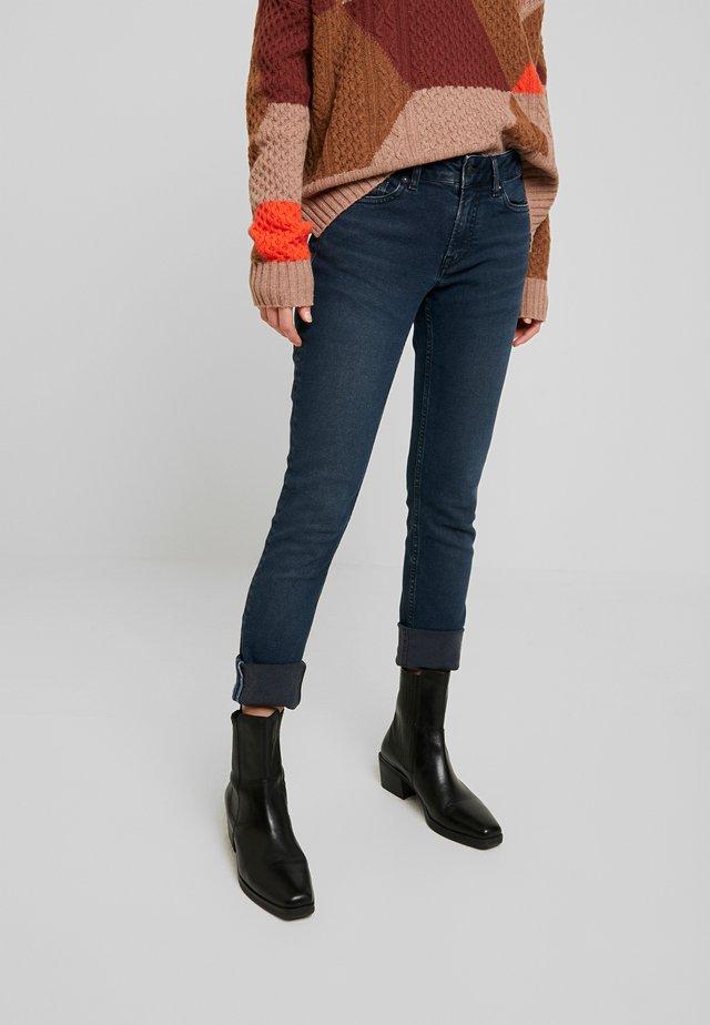 JUNO - Jean slim - vintage black