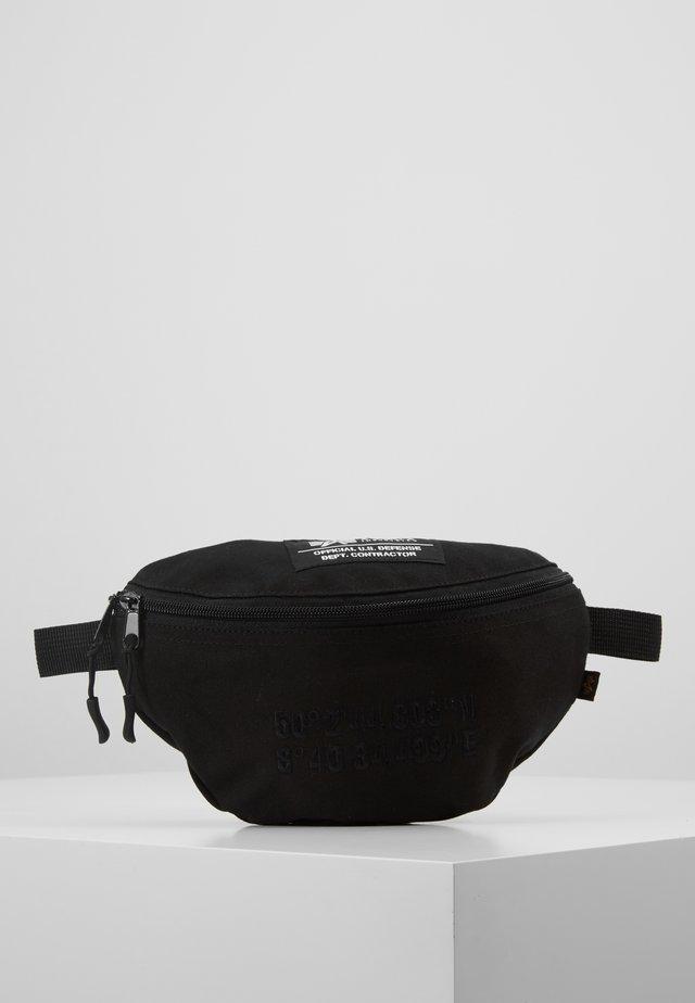 COORDINATES WAIST - Bum bag - black
