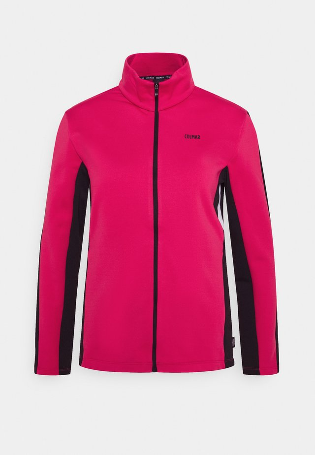 LADIES - Veste polaire - frozen berry/black