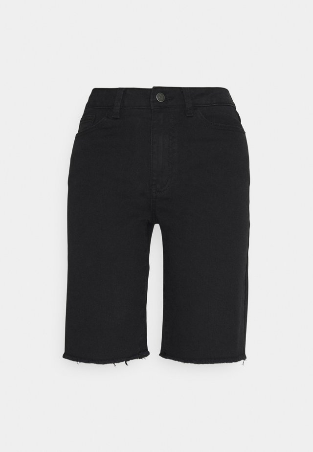 OBJMARINA NEW - Shorts di jeans - black