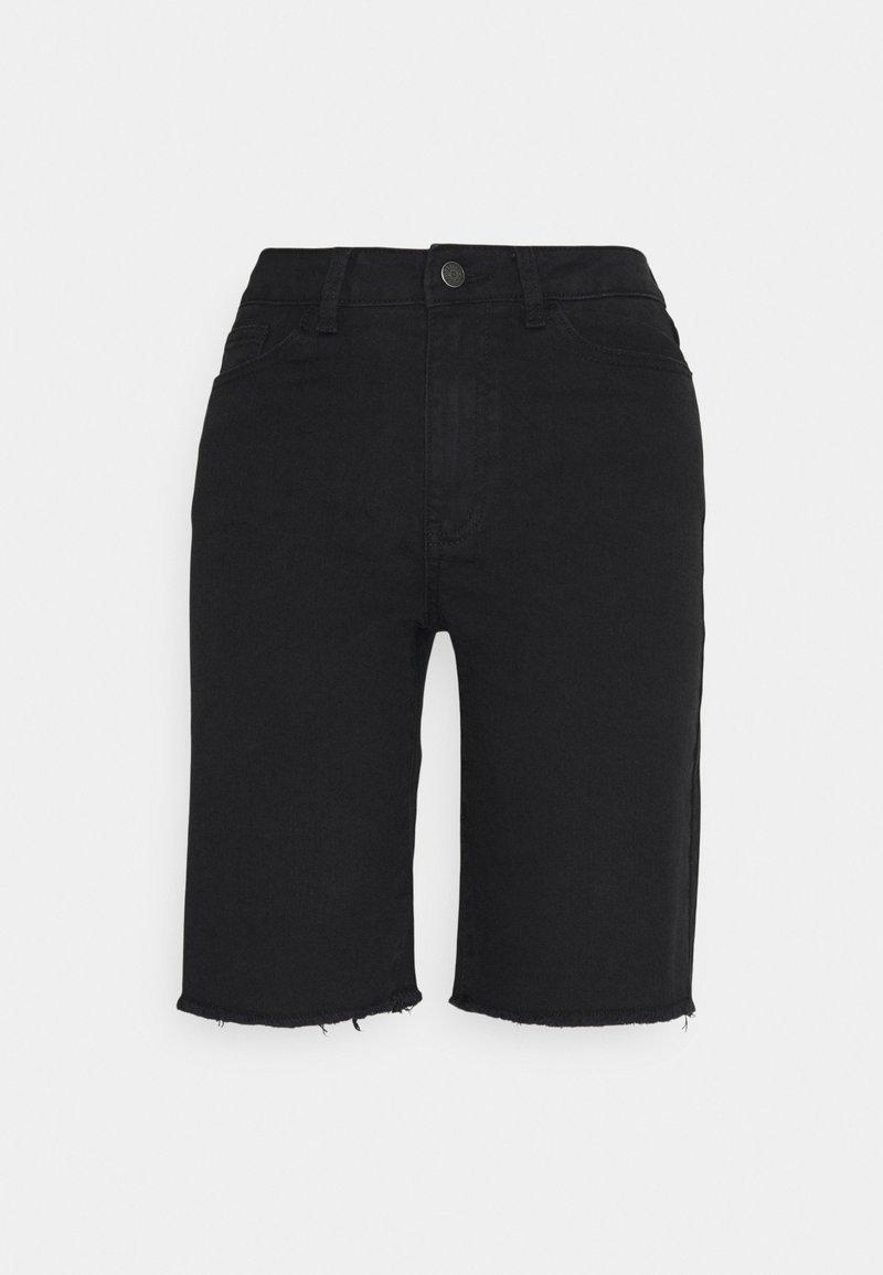 Object - OBJMARINA NEW - Shorts di jeans - black