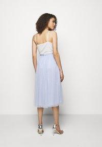 Needle & Thread - KISSES MIDAXI SKIRT - Áčková sukně - wedgewood blue - 2