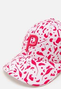 Puma Golf - WOMENS DOT DITSY - Cap - teaberry/bright white - 3