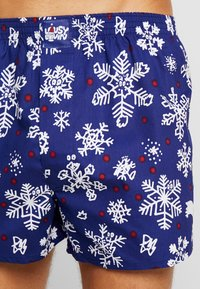 Lousy Livin Underwear - SNOW FLAKES - Boxer shorts - night blue - 4