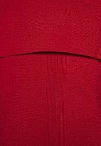 Proenza Schouler White Label - COMPACT TANK DRESS - Pouzdrové šaty - scarlet - 7
