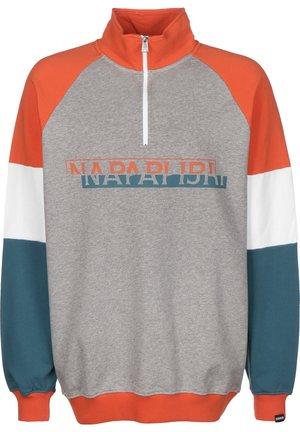 BIRE HZ - Sweatshirt - med grey mel