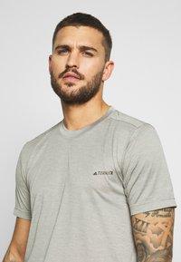 adidas Performance - TERREX TIVID - Basic T-shirt - feagray - 3