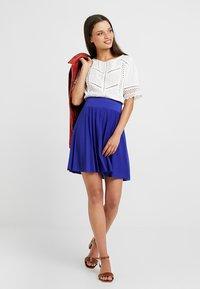 Anna Field Petite - Áčková sukně - clematis blue - 1