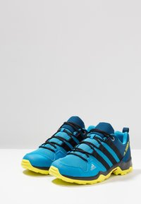 adidas Performance - TERREX AX2R - Hiking shoes - shock cyan/clear black/shock yellow - 3