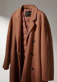 Massimo Dutti - Classic coat - brown - 3